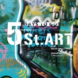 Believe us, now *that's* a curious canvas. Join Delhi Dallying on the St.ART Delhi walk to see the big picture!