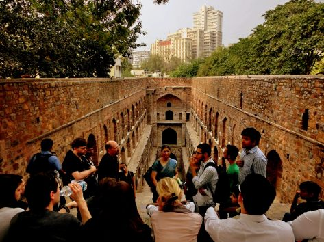 Rising heights and Plunging depths, Agrasen ki Baoli (Image Courtesy: Parul Suthar)