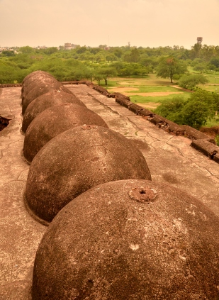 The domes of Begumpur Masjid