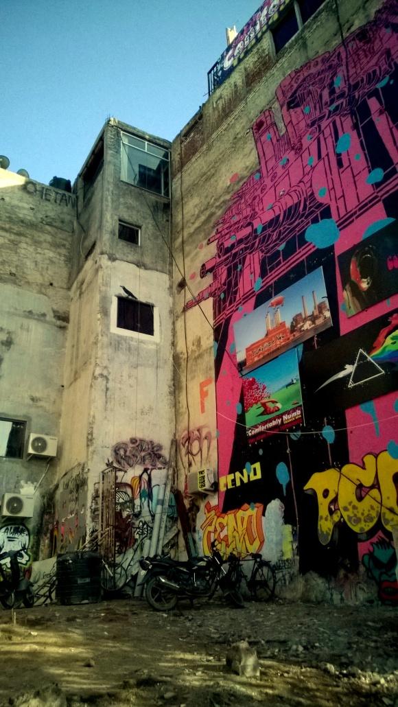 Layers of stories - Street Art as part of St.Art Delhi 2014